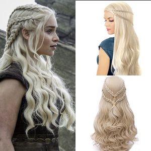 Accessories - Daenerys Targaryen Game of Thrones Cosplay Wig